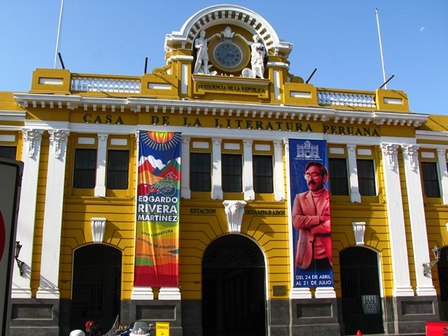 Casa de la Literatura Peruana, which I happened upon completely by accident in Lima