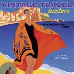 vintage travel poster calendar
